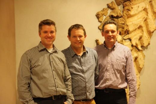 Op wie kunt u stemmen? Maak kennis met de finalisten Raymond Derks (links), Patrick van den Hurk (midden) en Pierre van Oort.